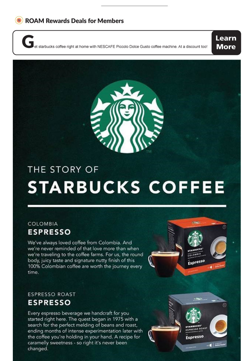 Roam Rewards Starbucks 01