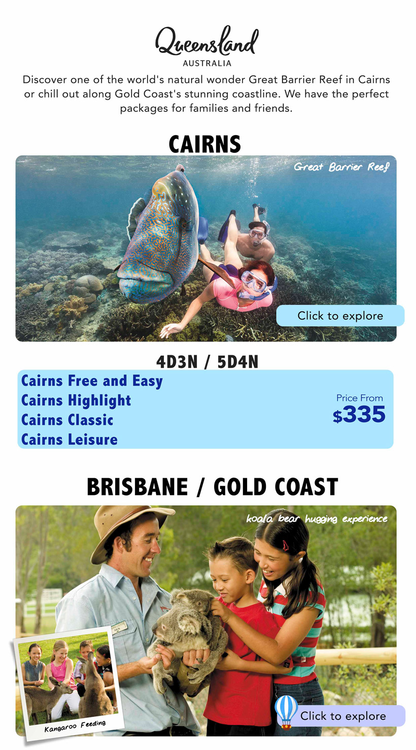 Discover GoldCoast Brisbane and Cairns 01