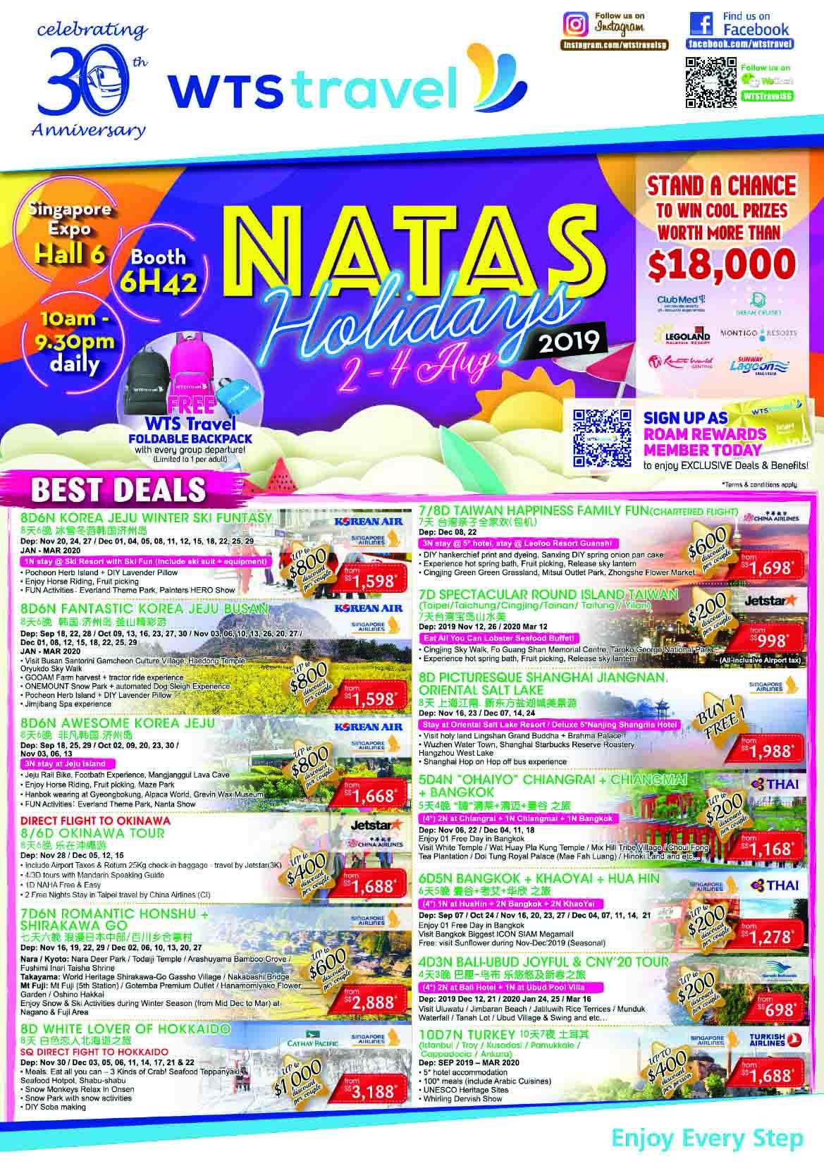 WTS Travel NATAS Fair