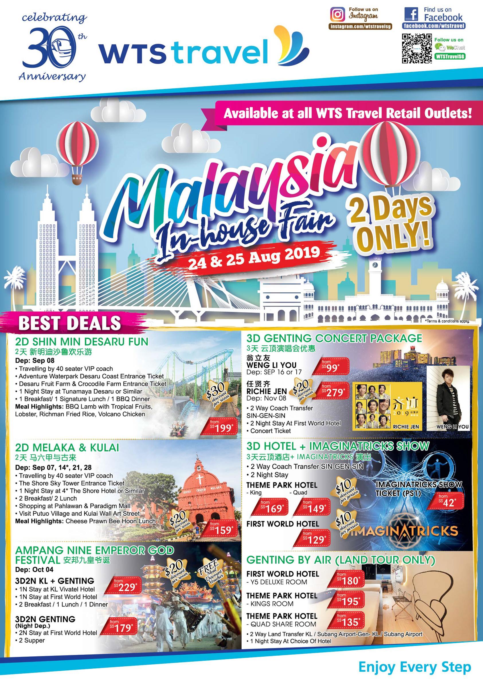 Malaysia Travel Fair 1 with Logo